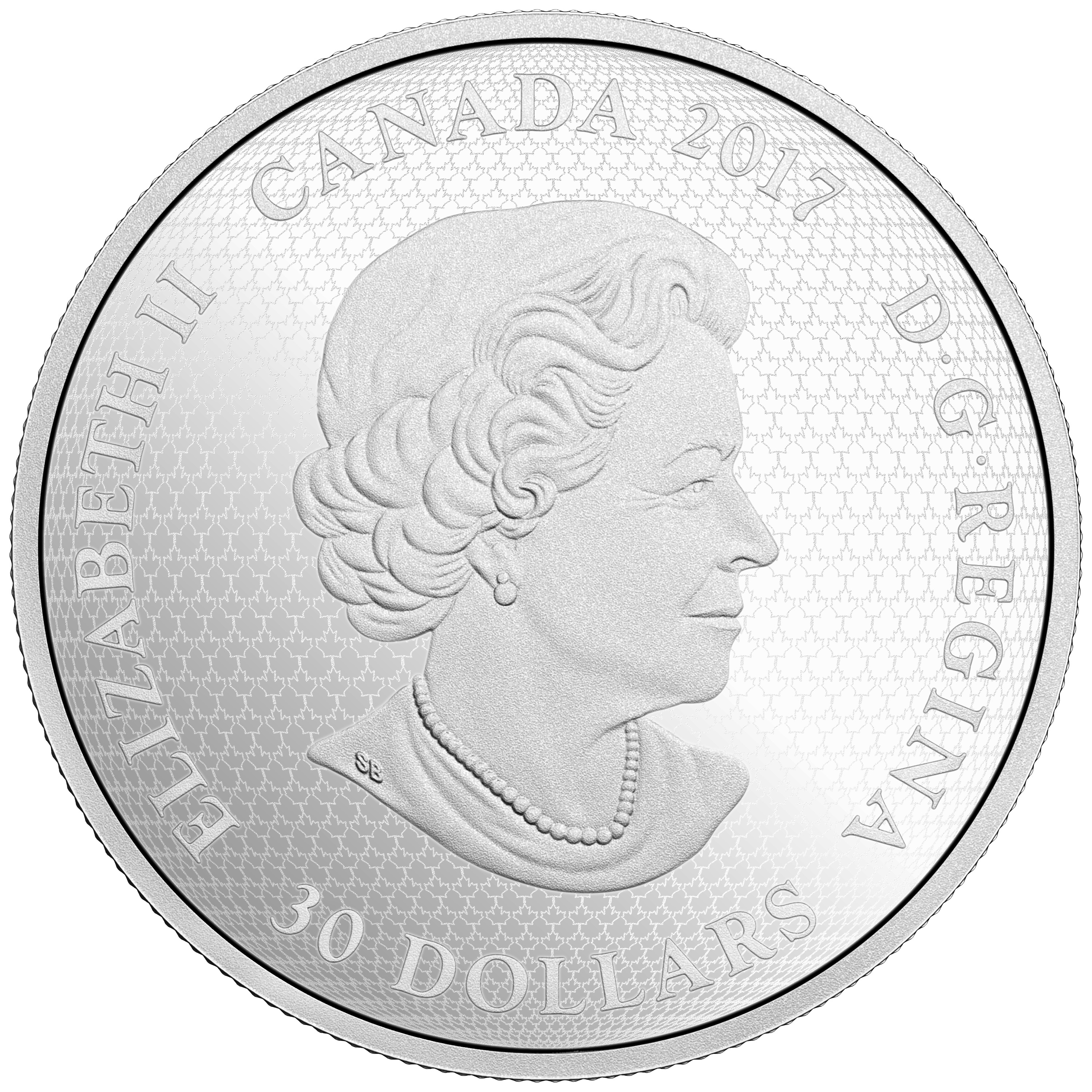 2017 Celebrating Canada Day 150 Parliament Hill $30 Glow-In-The-Dark Silver Coin