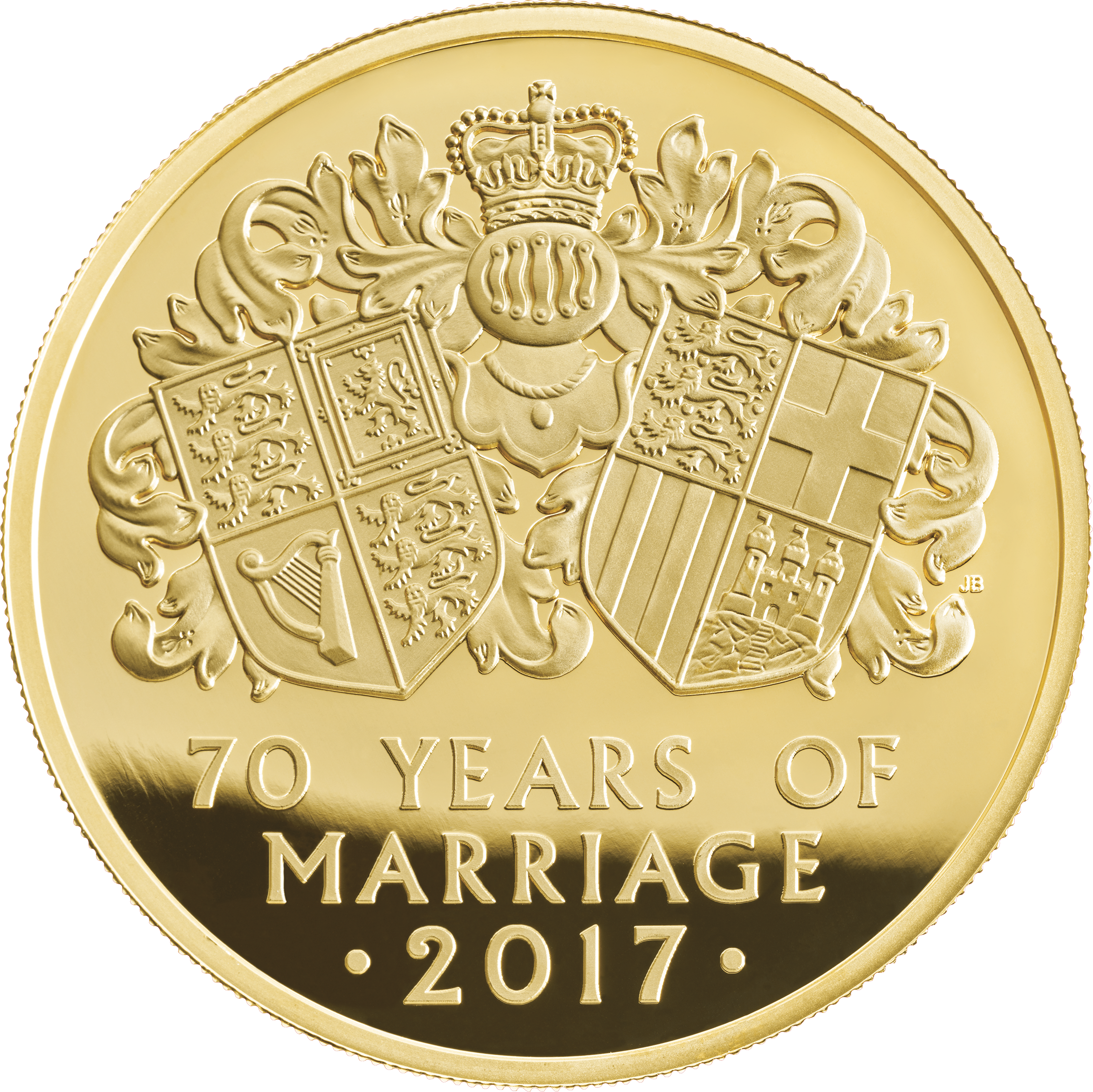 70 Wedding Anniversary Royal Mint Honors Queen Elizabeth And